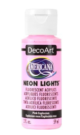Tinta Decoart Americana Neon Lights Pink Explosion - DA340