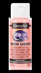 Tinta Decoart Americana Neon Lights Peach Punch - DA341