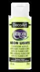 Tinta Decoart Americana Neon Lights Radiant Yellow - DA342