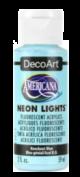 Tinta Decoart Americana Neon Lights Knockout Blue - DA344