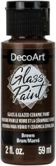 Tinta Decoart Glass Brown - DGP13
