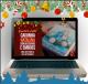 Caixinha Natalina com Decoupage e Emboss   Especial de Natal com Livia Fioreli